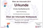 1. Platz – Biber der Informatik
