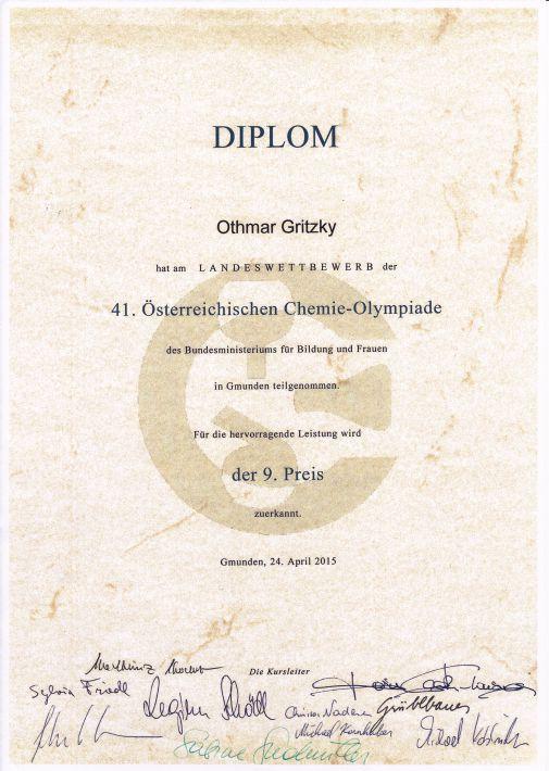 Chemie-Olympiade 2