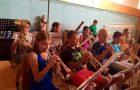 Herzliche Einladung zum Auftritt des Blasorchesters beim Schulfest