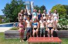 11 neue RettungsschwimmerInnen aus dem Gymnasium Dachsberg