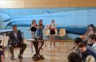 Musik und Tanz am Schulfest